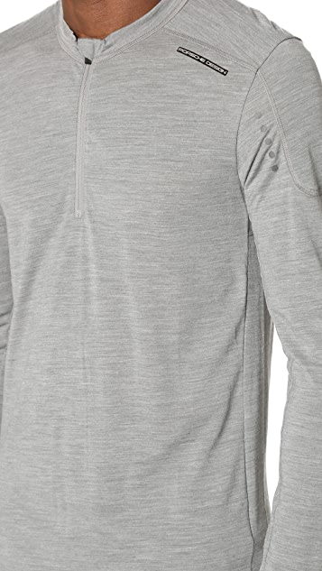 Porsche Design Sport by Adidas Tech Wool Long Sleeve Tee