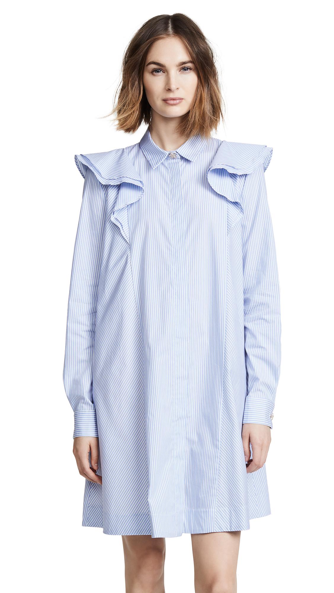 Paul & Joe Sister Coralia Shirt Dress In Ciel 32