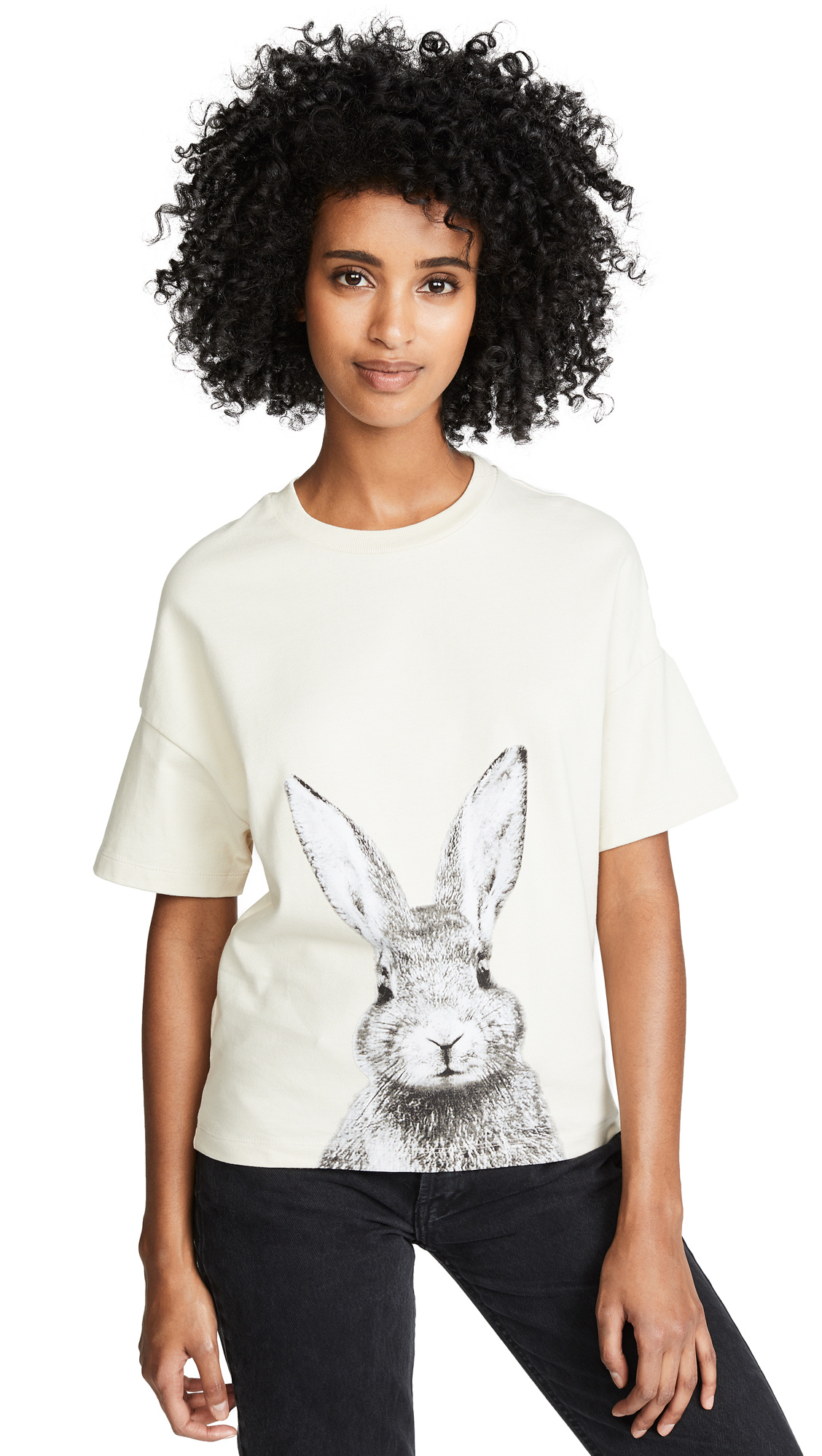 Paul & Joe Sister Lapinou T-Shirt In Beige