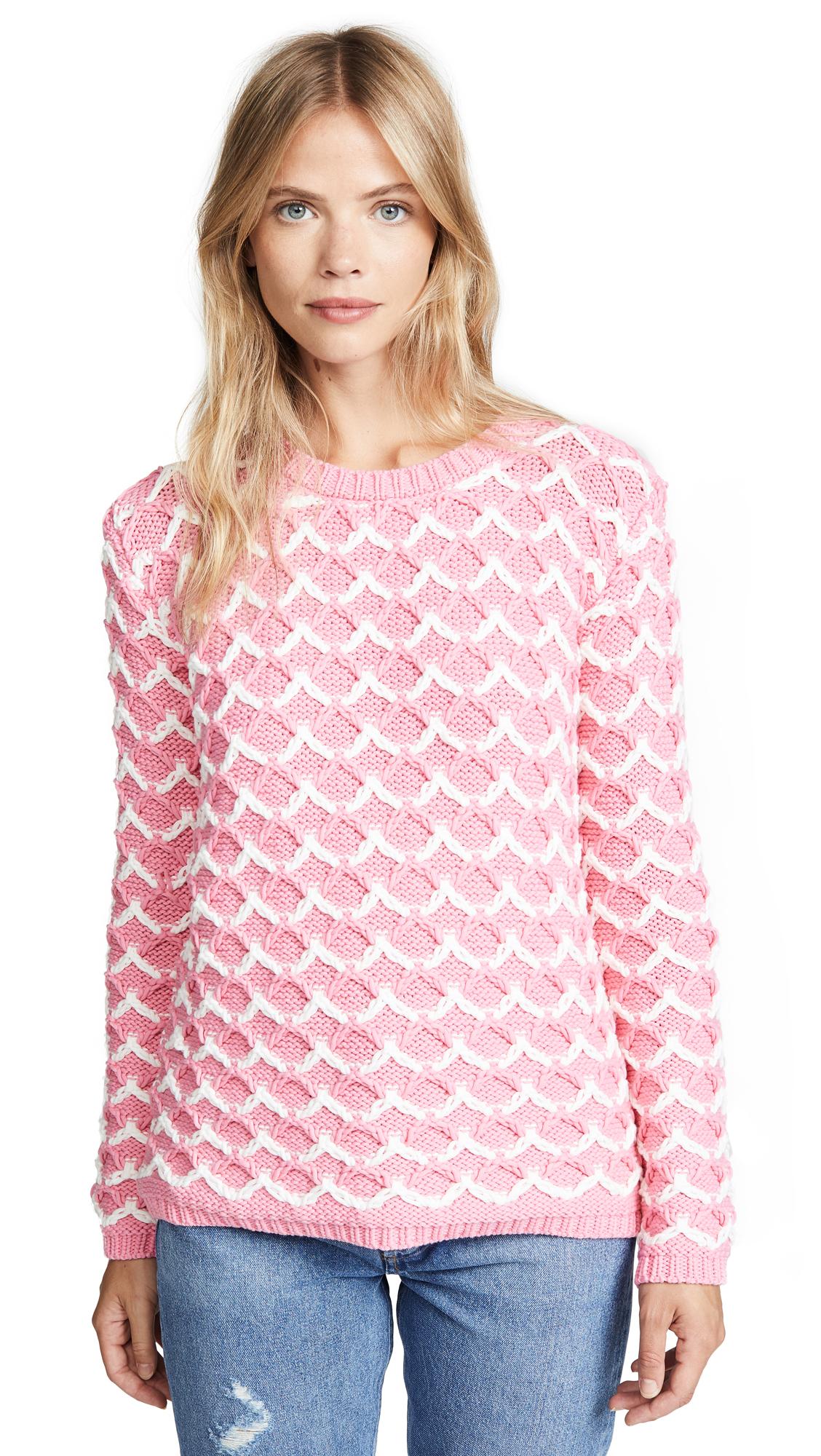 Paul & Joe Sister Bambin Sweater In Pink