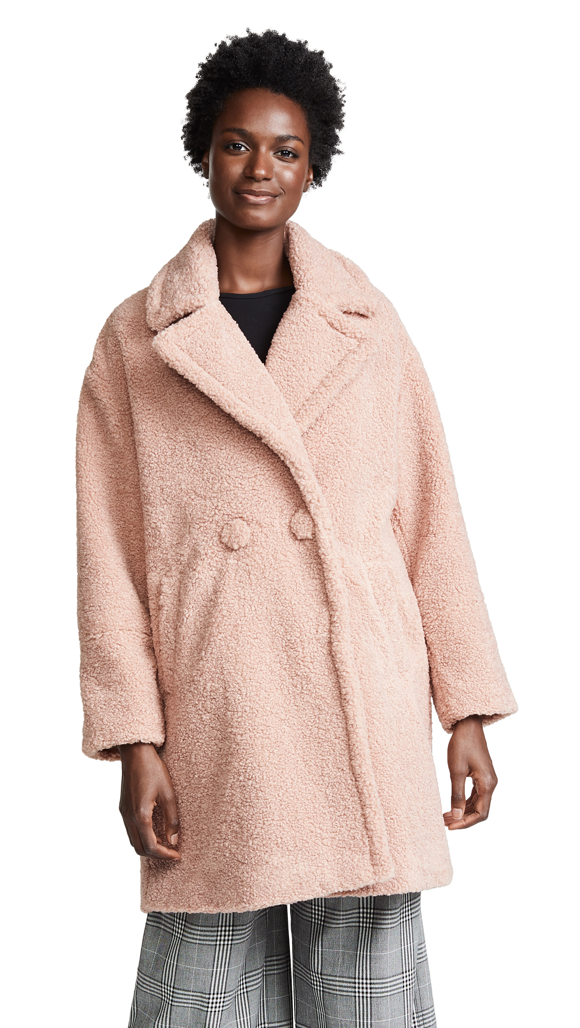 Paul & Joe Sister Minno Coat In Pink
