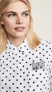 Paul & Joe Sister Рубашка Lilii Cat на пуговицах