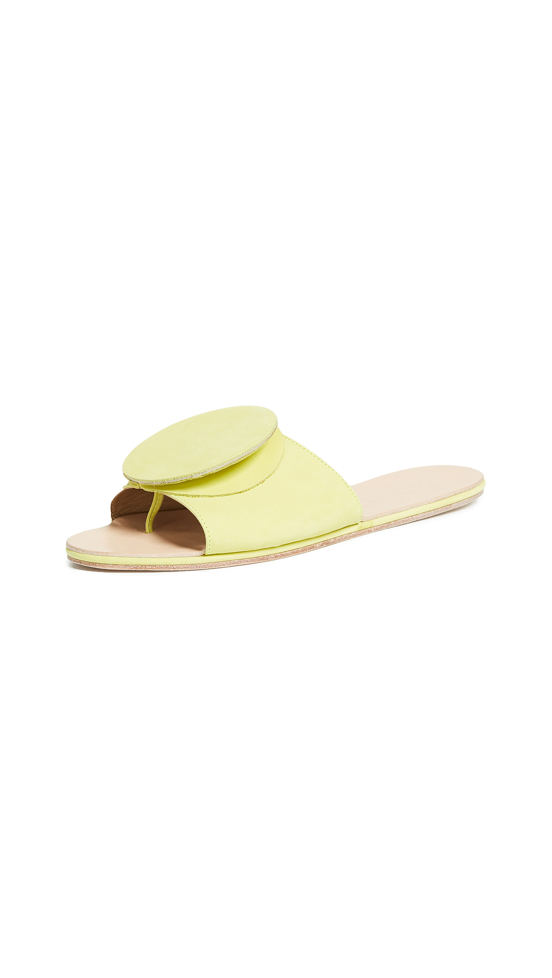 The Palatines Celeste Origami Slides - Lime