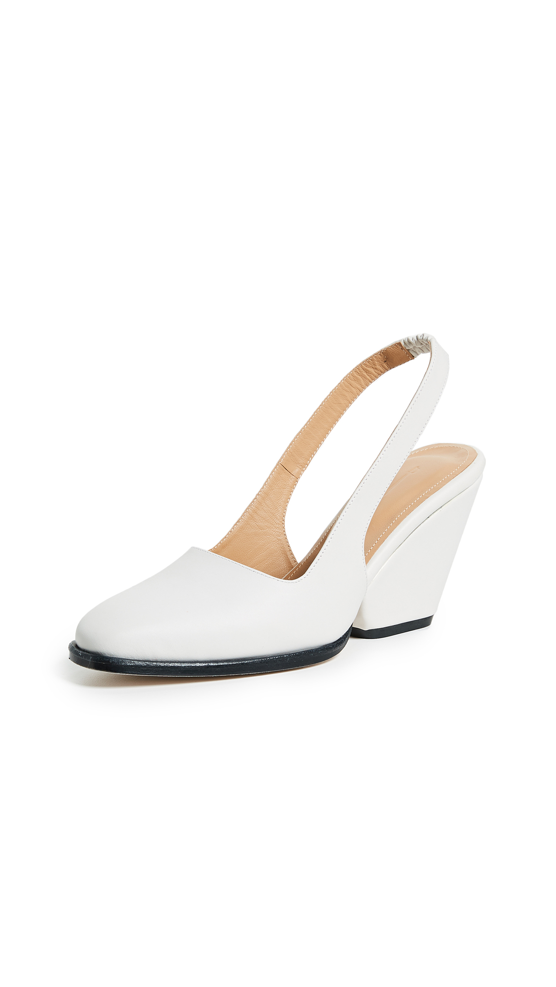 The Palatines Imago Slingback Pumps - White