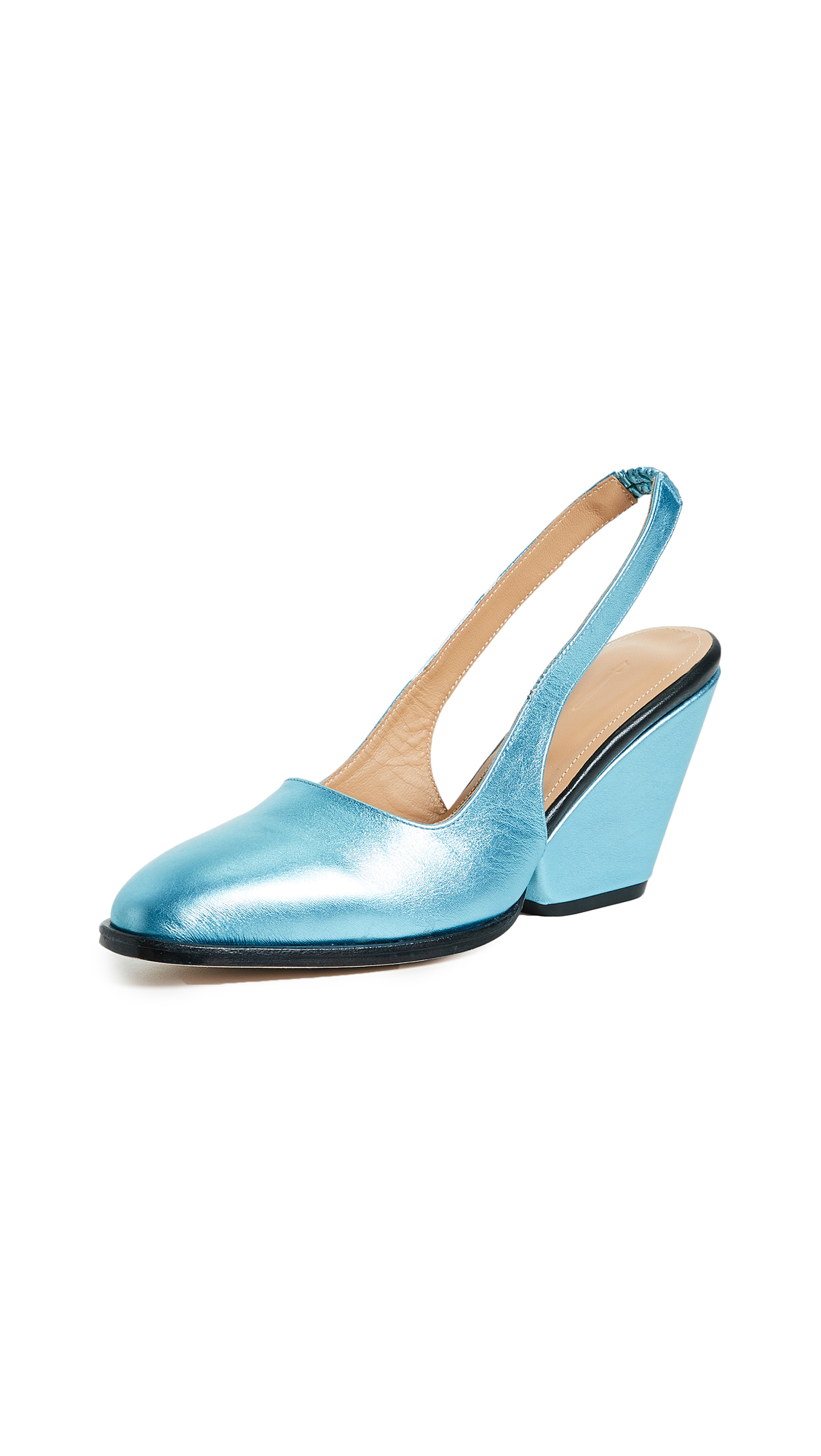 The Palatines Imago Slingback Pumps - Pool
