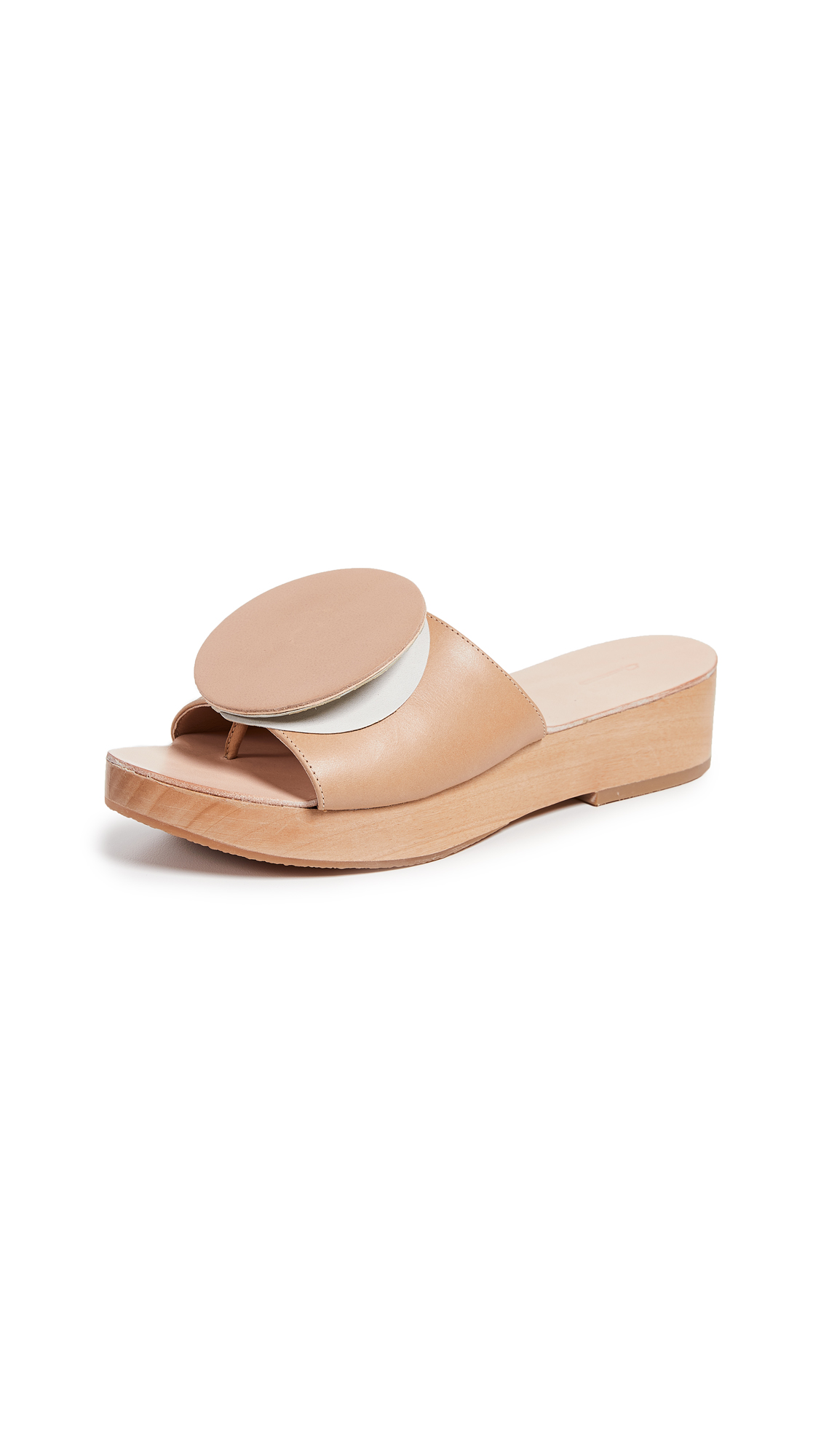 The Palatines Editio Origami Slides - Tan/Lunar