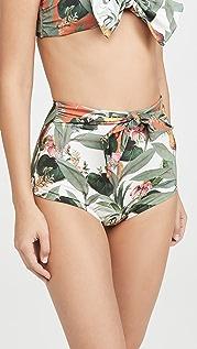 Palmacea Pina High Waisted Bikini Bottoms