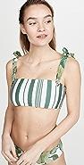 Palmacea Caoba Bikini Top