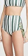 Palmacea Caoba High Rise Bikini Bottoms