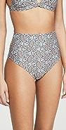 Palm Baja High Waisted Bikini Bottoms