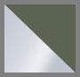 Silver/Moss Green Agate