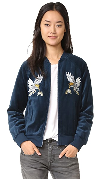 Pam & Gela Embroidered Track Jacket