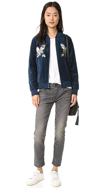 Pam & Gela Embroidered Track Jacket