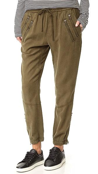 Pam & Gela Zippered Track Pants