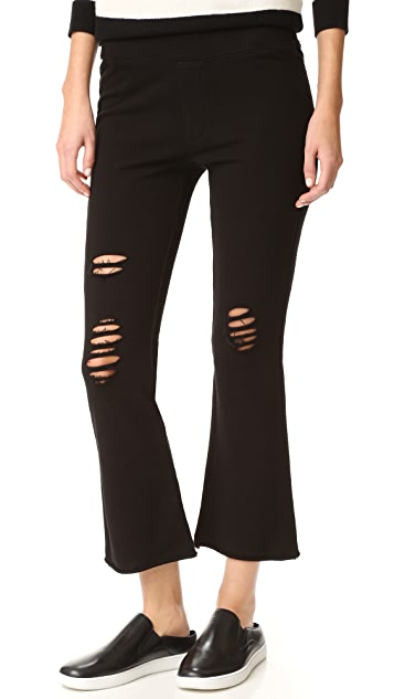 Pam & Gela Cropped Flare Pants