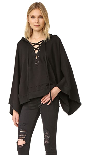 Pam & Gela Lace Up Cape
