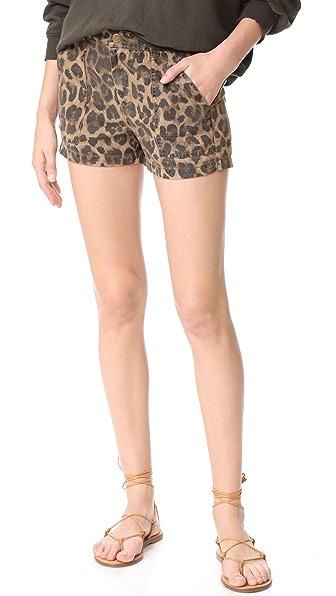 Pam & Gela Leopard Shorts - Ocelot