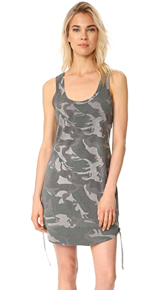 Pam & Gela Racerback Tank Dress - Camo