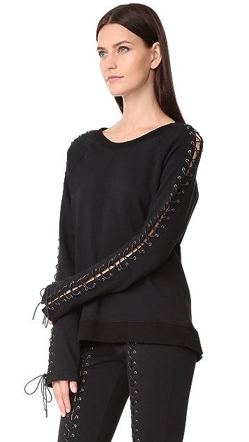 Pam & Gela Laced Sweatshirt