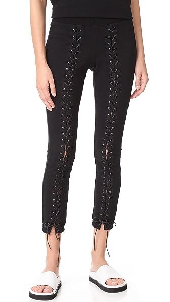 Pam & Gela Laced Sweatpants - Black