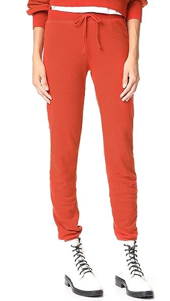 Pam & Gela Basic Fleece Sweatpants - Poppy