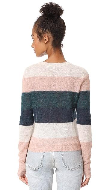Pam & Gela Multi Stripe Sweater
