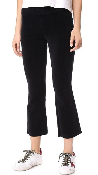 Pam & Gela Slim Flare Crop Pants