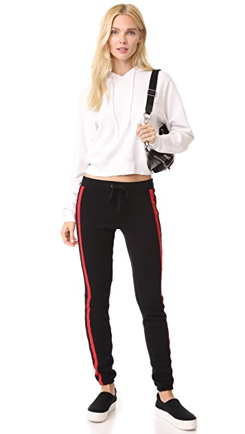 Pam & Gela Sport Stripe Basic Sweatpants