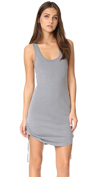 Pam & Gela Racerback Dress - Grey Lavender