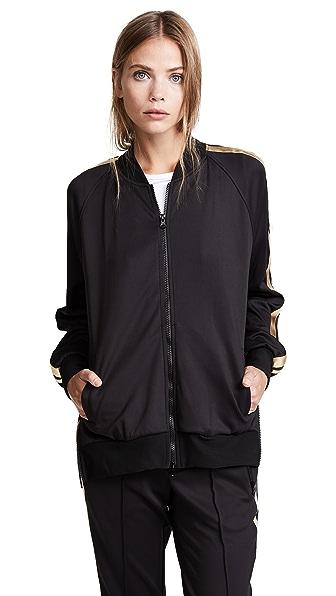 Pam & Gela Track Jacket In Black