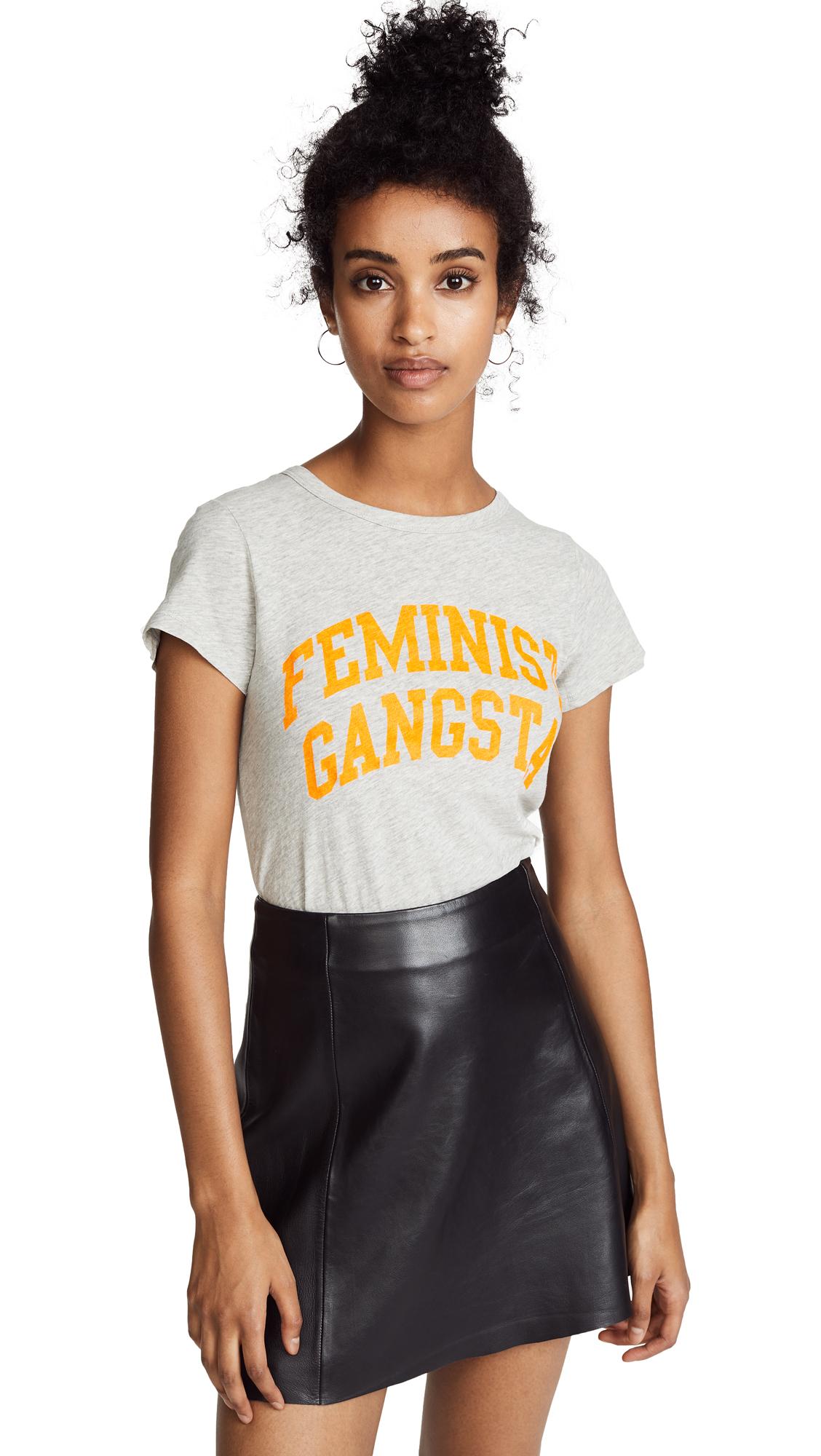 FEMINIST GANGSTA TEE