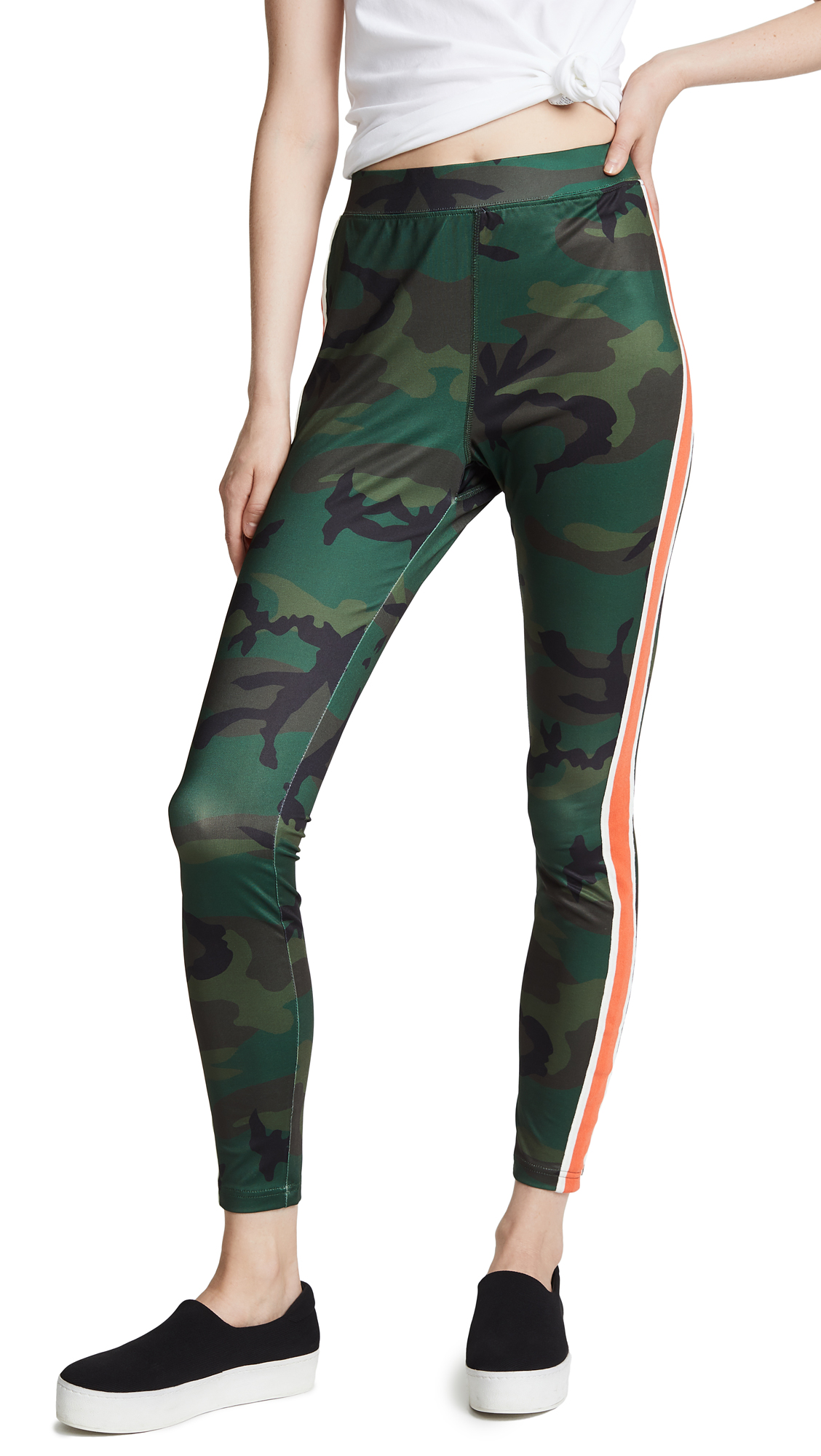 PAM & GELA CAMO HIGH RISE LEGGINGS