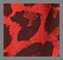 Red Leopard Print.