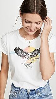 Pam & Gela Укороченная футболка с логотипом в виде орла