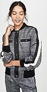 Pam & Gela Glen Tartan Blouson Jacket