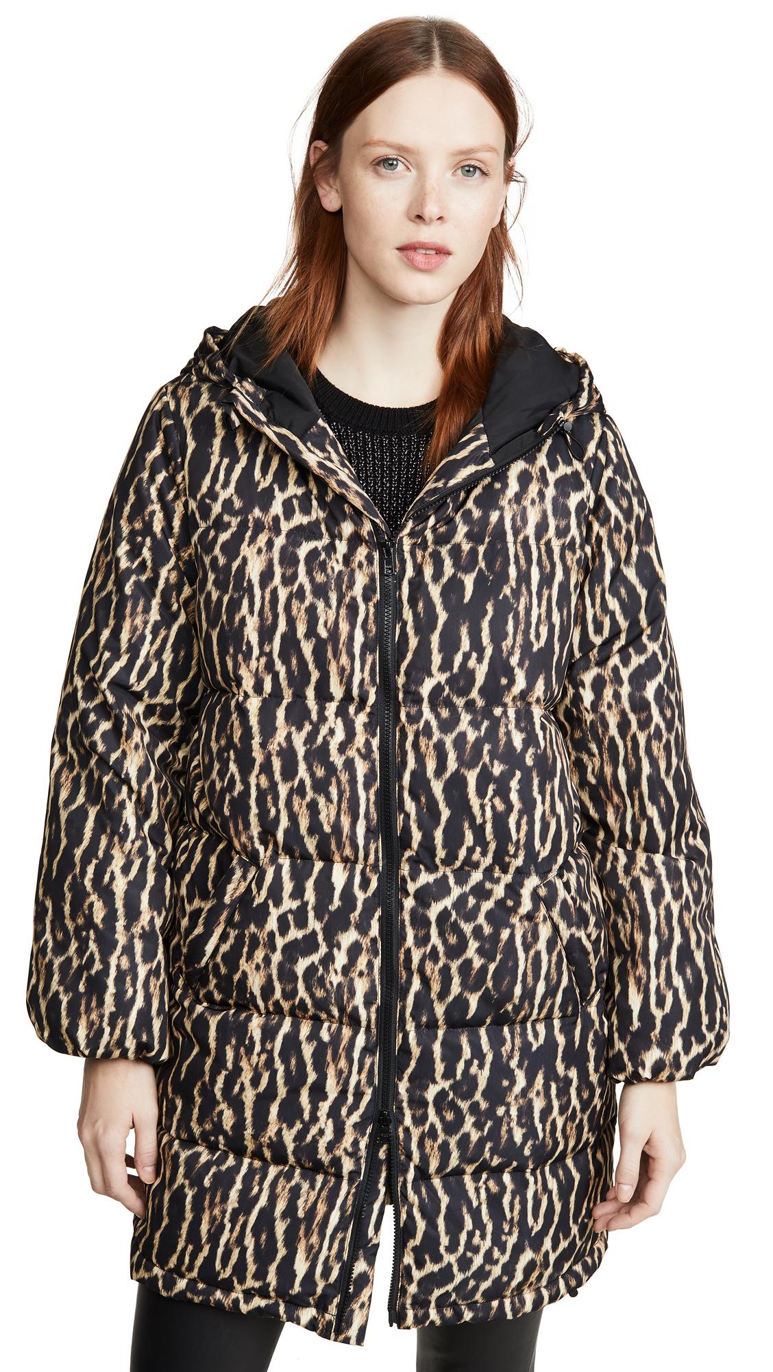 Buy Pam & Gela Leopard Puffer online beautiful Pam & Gela Jackets, Coats, Down Jackets