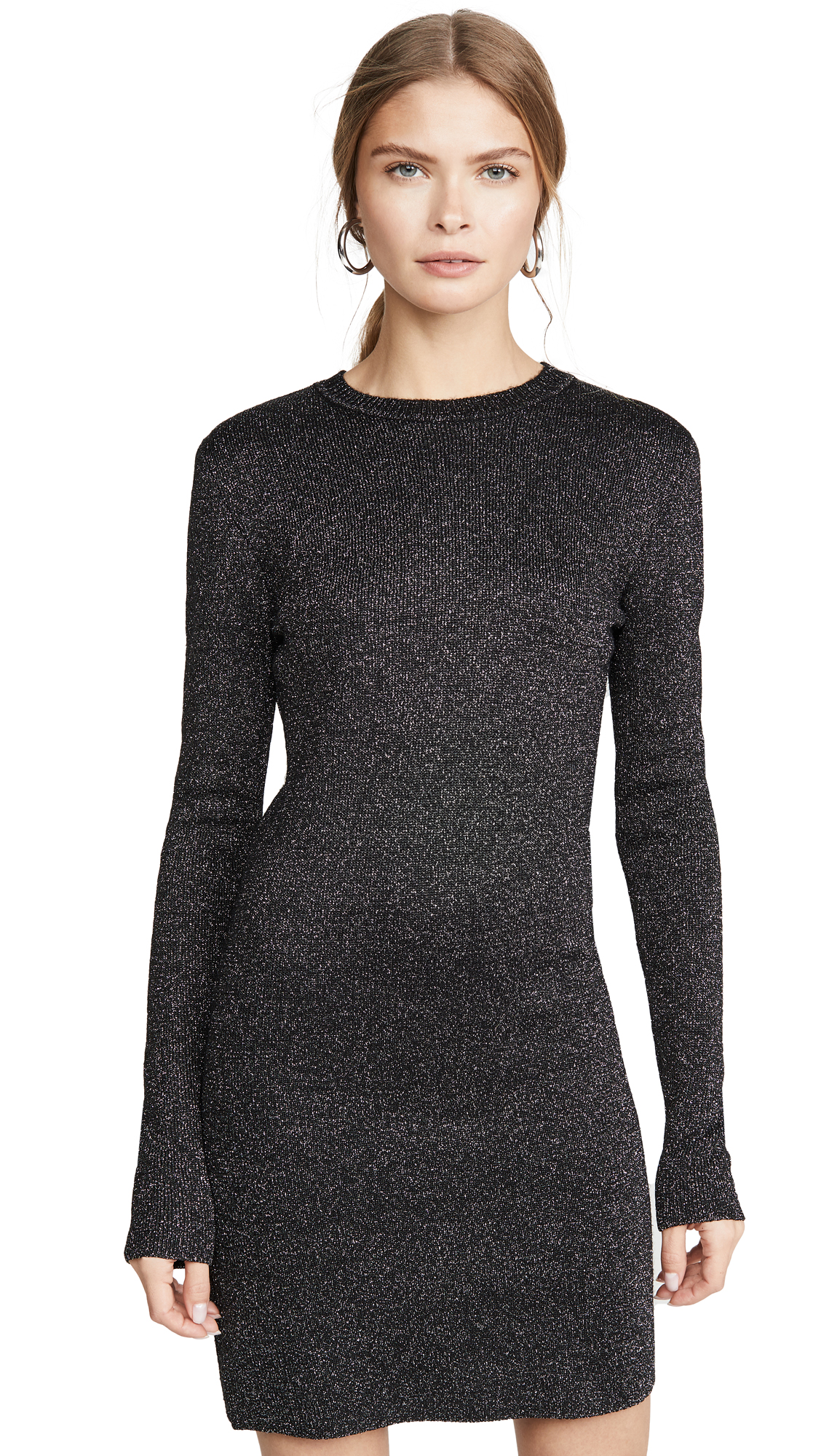Buy Pam & Gela online - photo of Pam & Gela Metallic Long Sleeve Dress