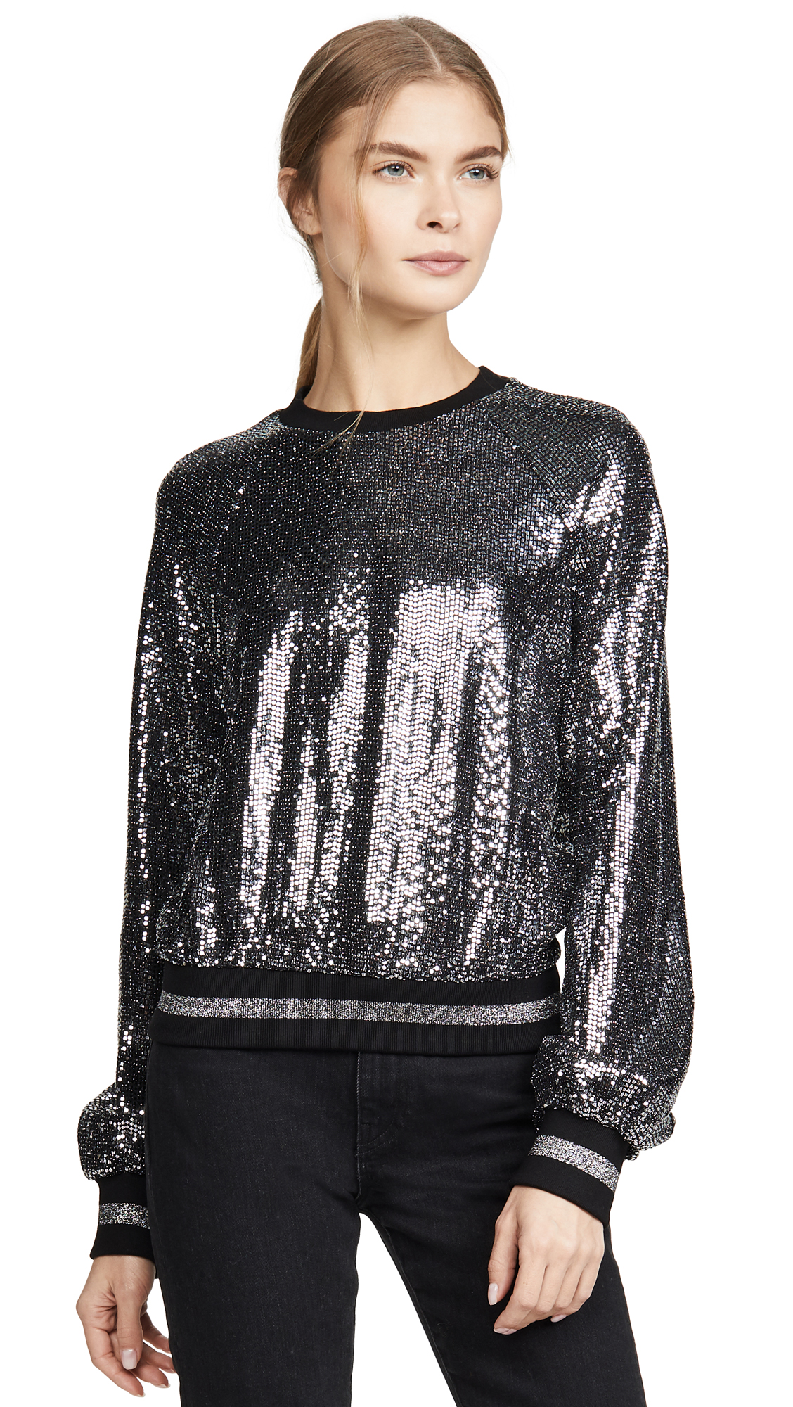Buy Pam & Gela online - photo of Pam & Gela Mirror Ball Sweatshirt