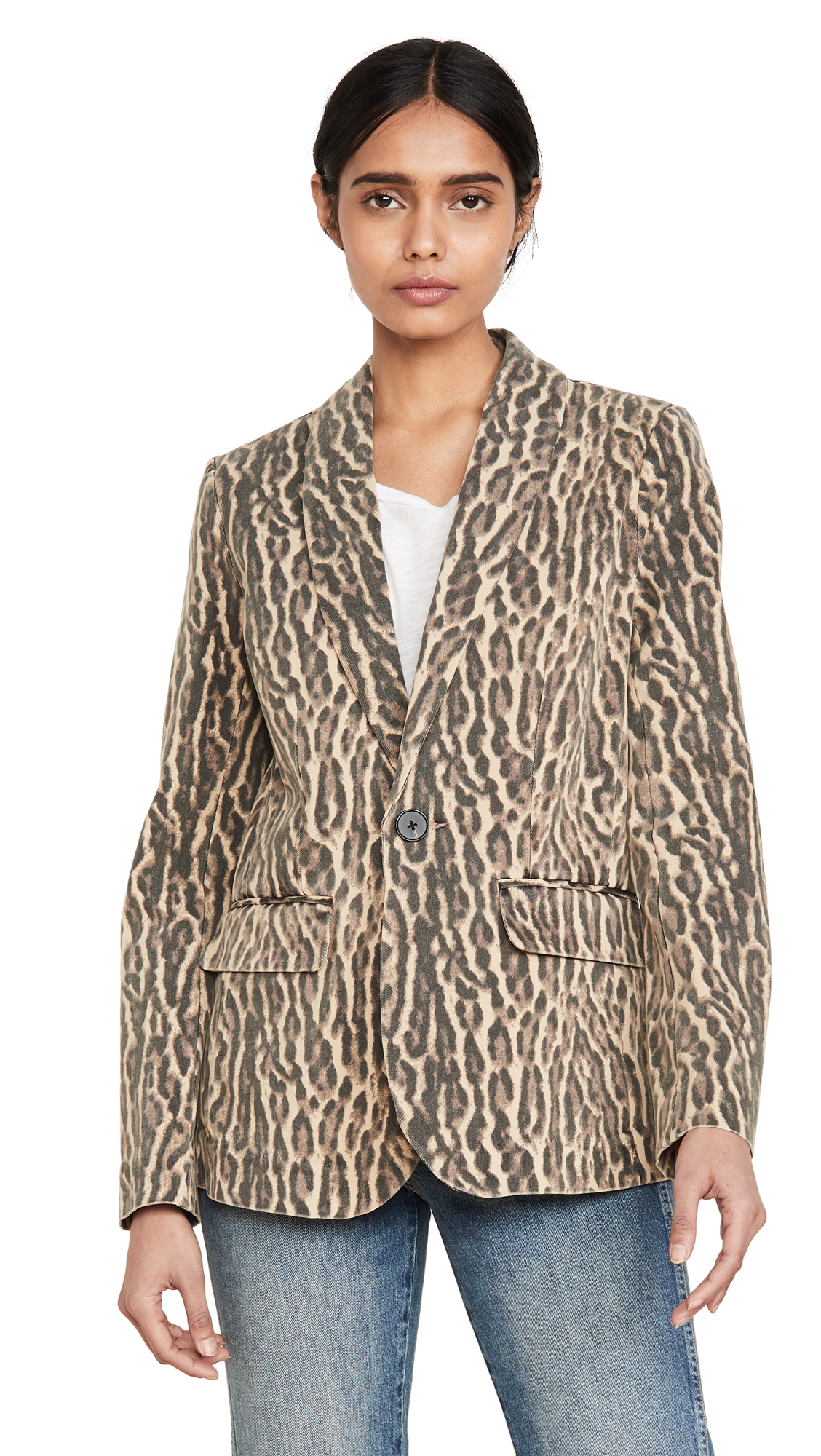 Buy Pam & Gela online - photo of Pam & Gela Ocelot Blazer