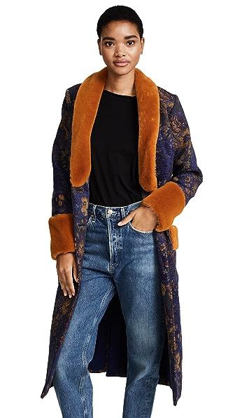 Pamplemousse Yoko Coat In Ju