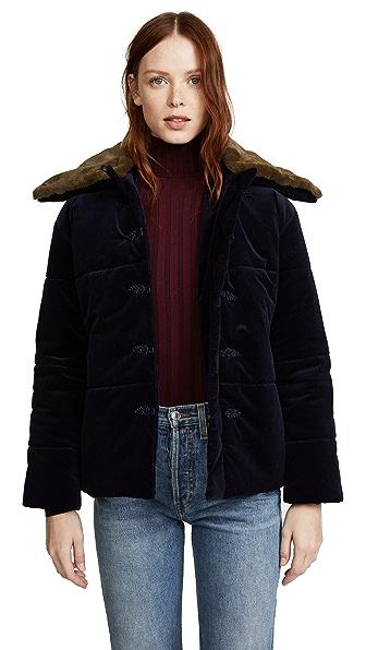 Pamplemousse Bao Puffer Jacket In Toro