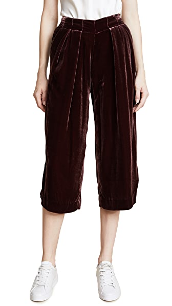 Pamplemousse Iris Culottes In Ruby