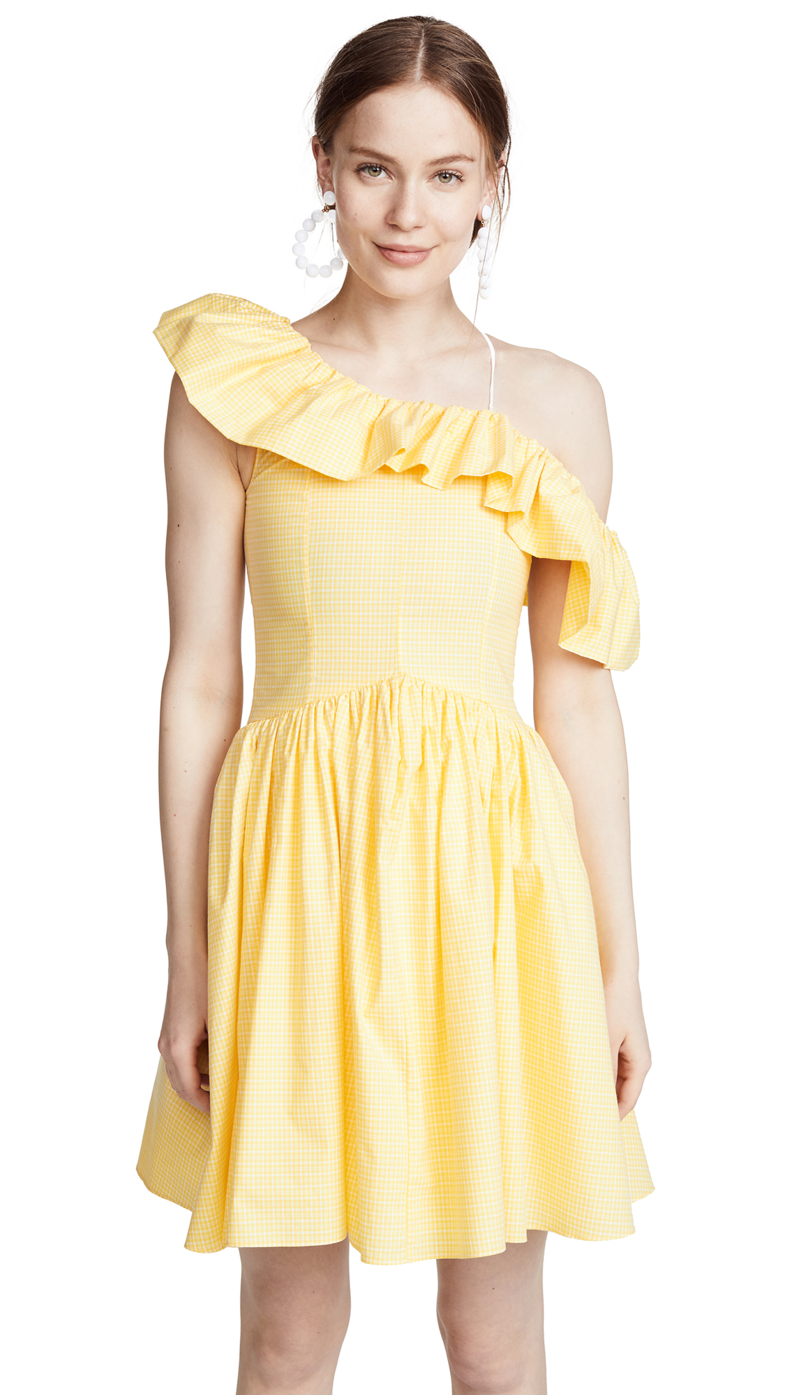 PAMPLEMOUSSE Daisy Dress in Yellow