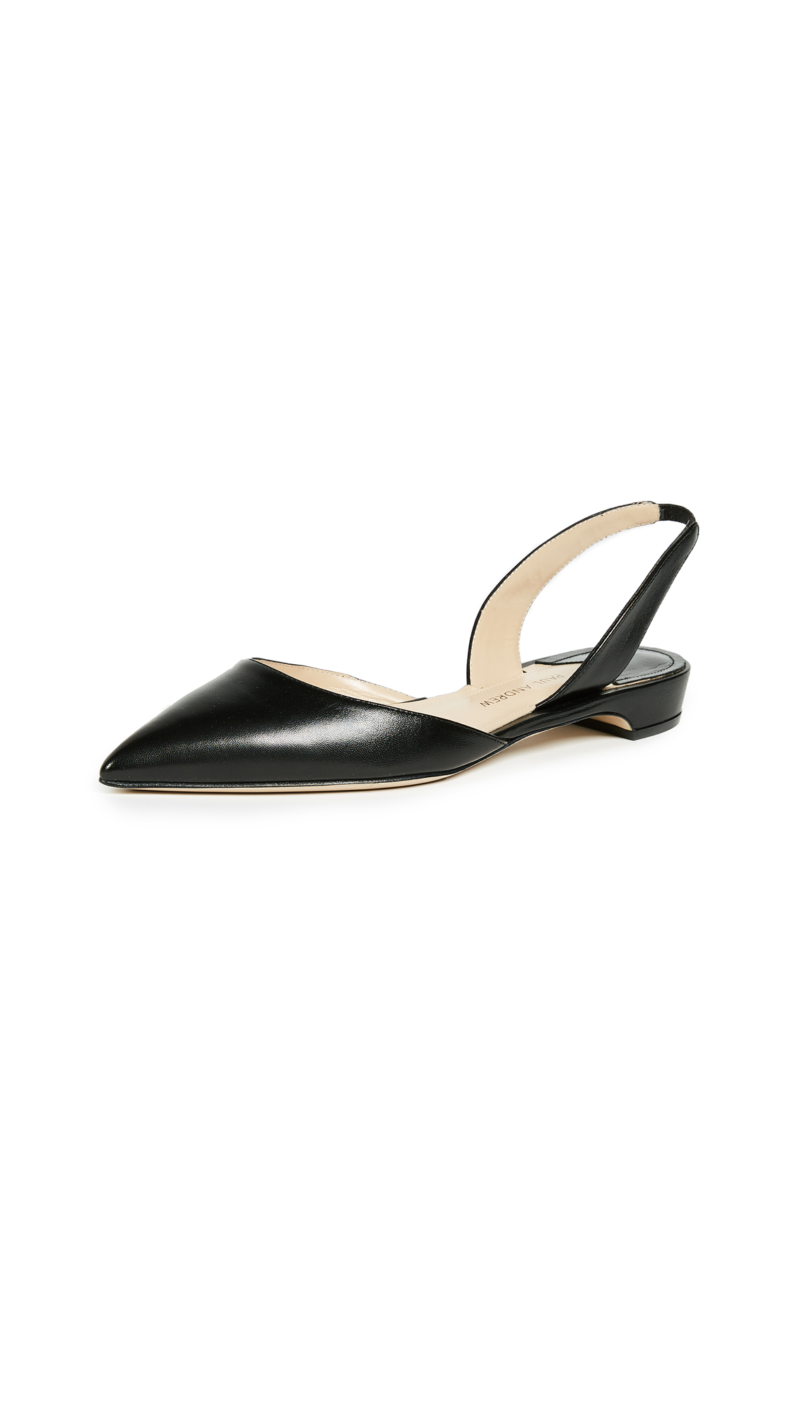 Paul Andrew Rhea 15 Flats - Black