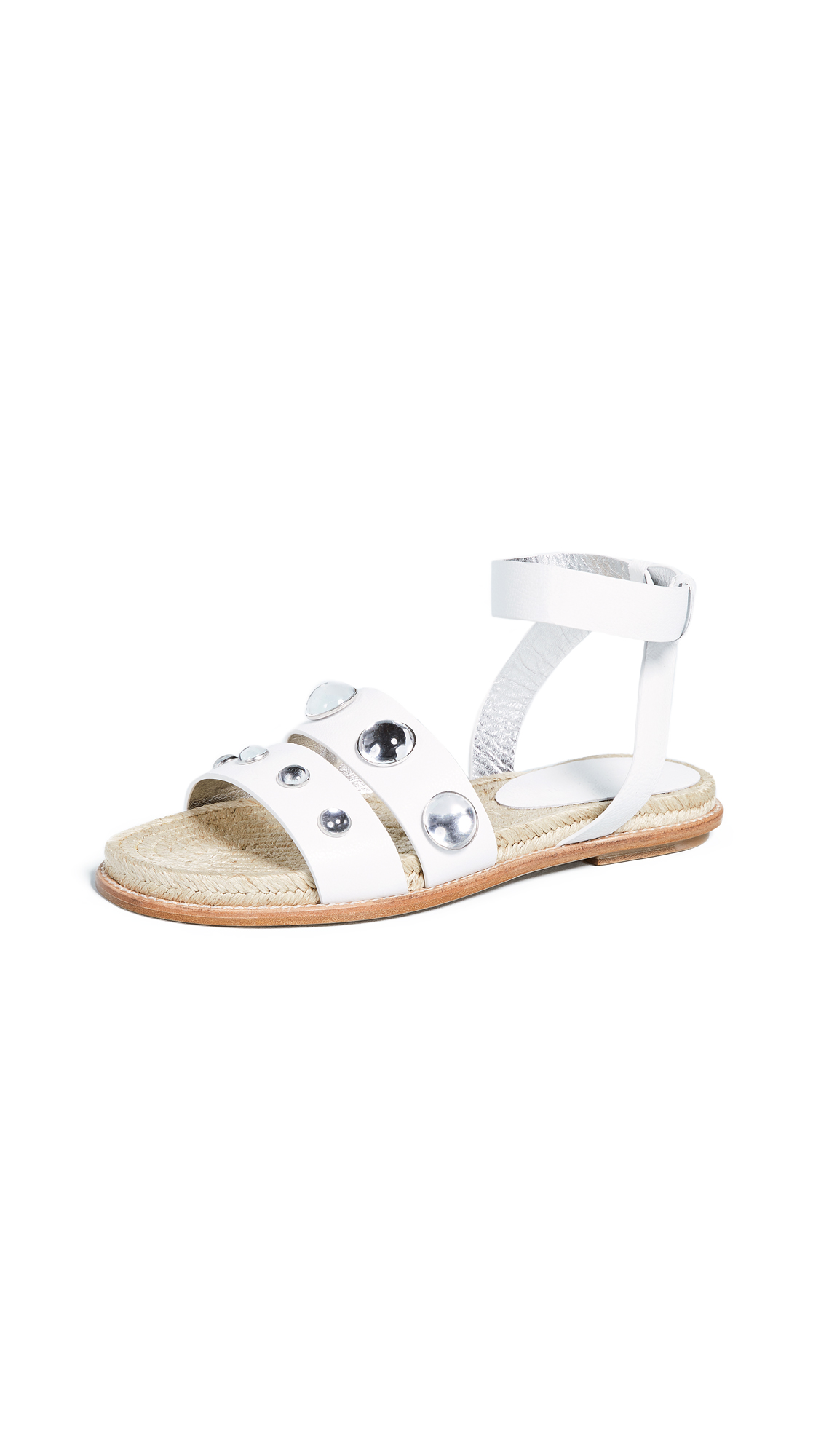 Paul Andrew Scully Stones Sandals - White