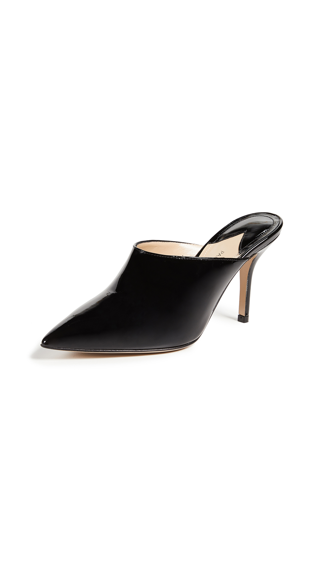 Paul Andrew Certosa Mule Pumps - Black