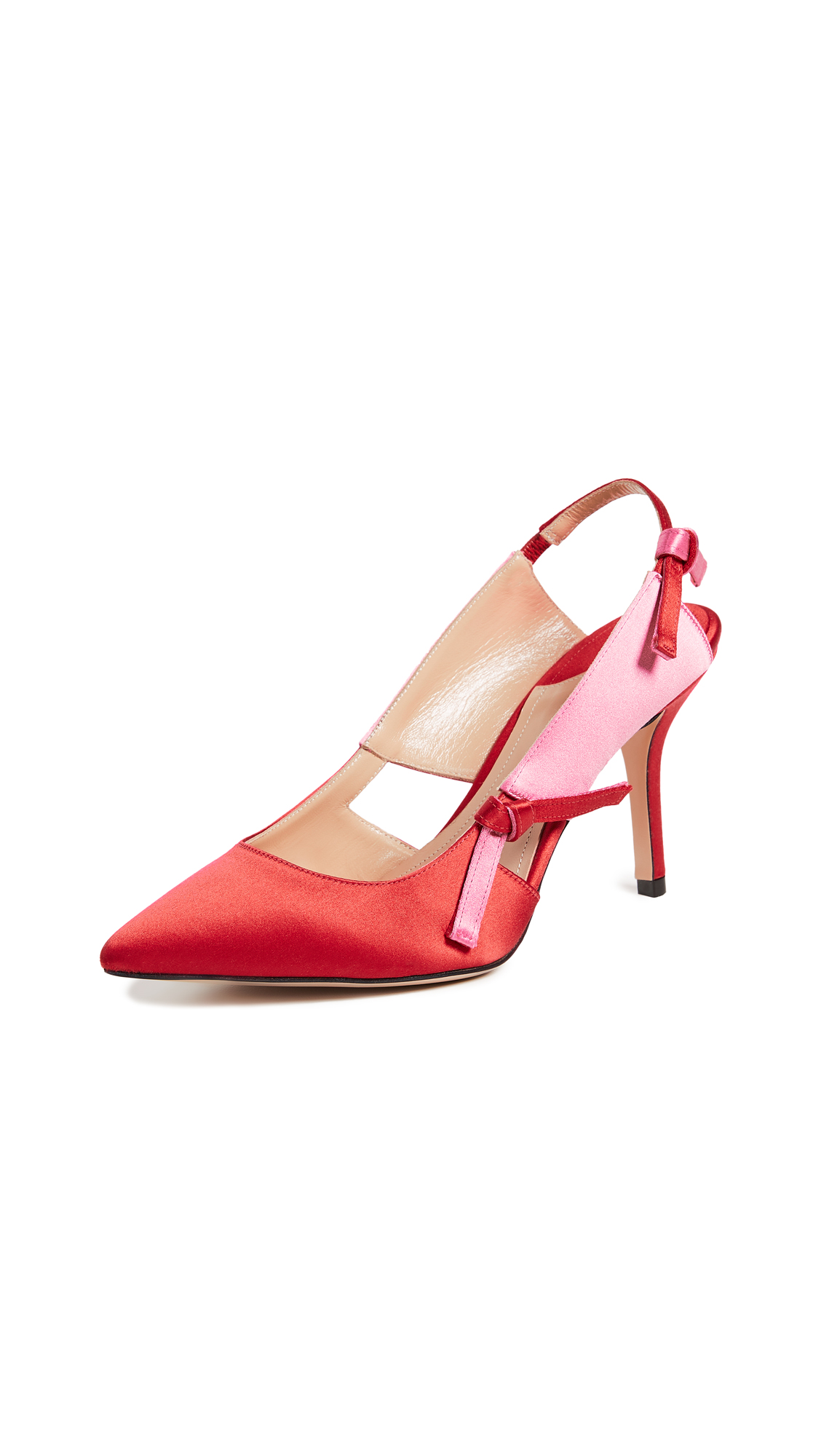 Paul Andrew Salomon 85 Pumps - Lipstick Red/Multi