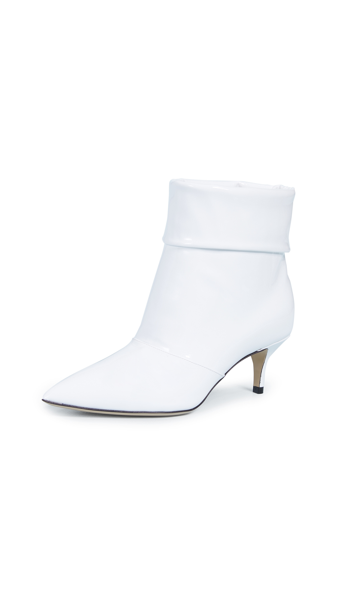 Paul Andrew Banner 55 Booties - White