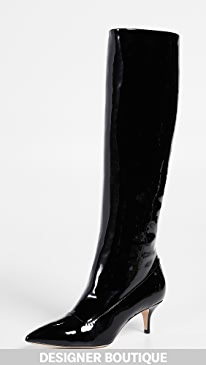 142474b147e85 Paul Andrew. Nadia Patent Leather Boots