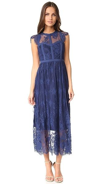 Parker Parker Black Tesoro Dress - Aquarius
